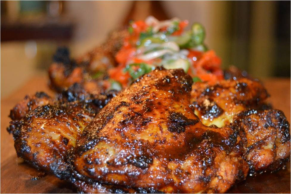 Recipes chef ryan rondeno for Marinade poulet barbecue curry