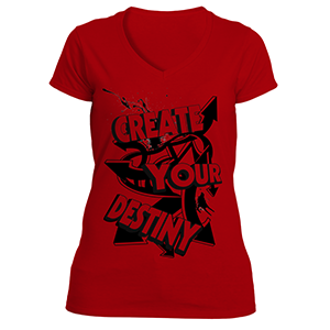 Create Your Destiny T-Shirt Ladies