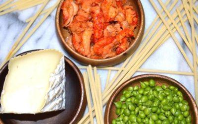 CREOLE L.A. – Louisiana Crawfish, Casatica Sauce & English Peas